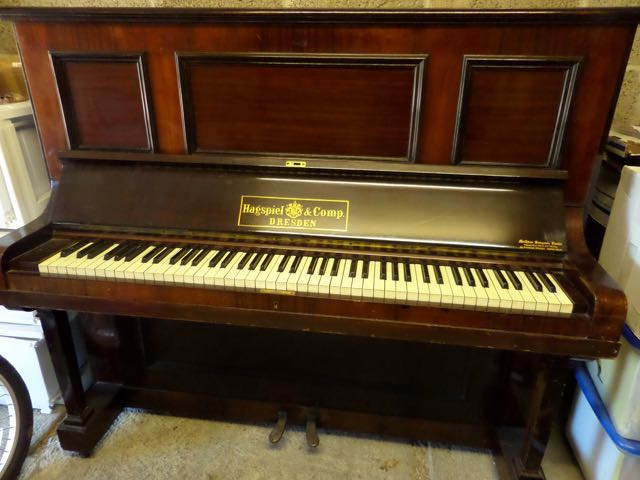 Hagspiel upright