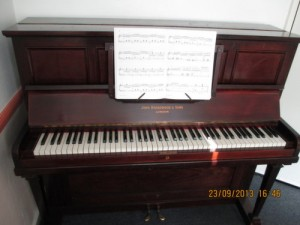 Pretty Broadwood upright. Tuned by Underwater Piano Shop Sept. 7th 2013